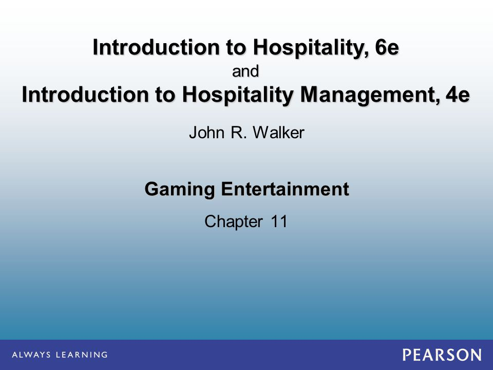 Introduction to Hospitality, 6e