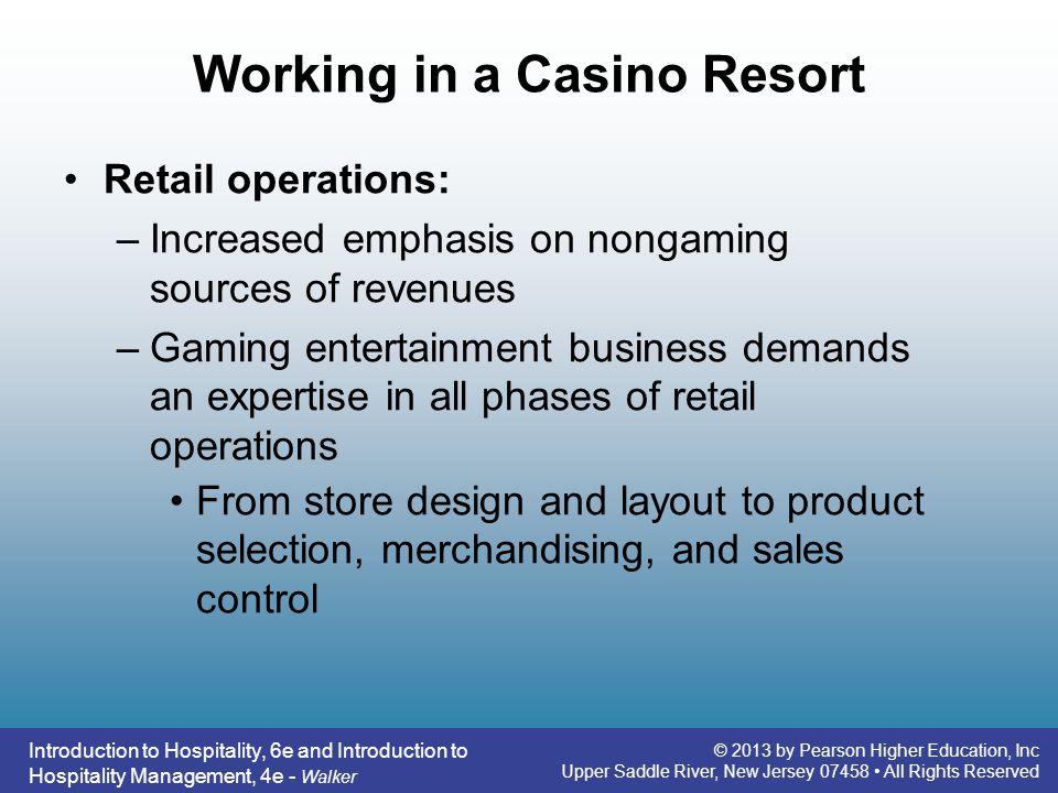 Working in a Casino Resort