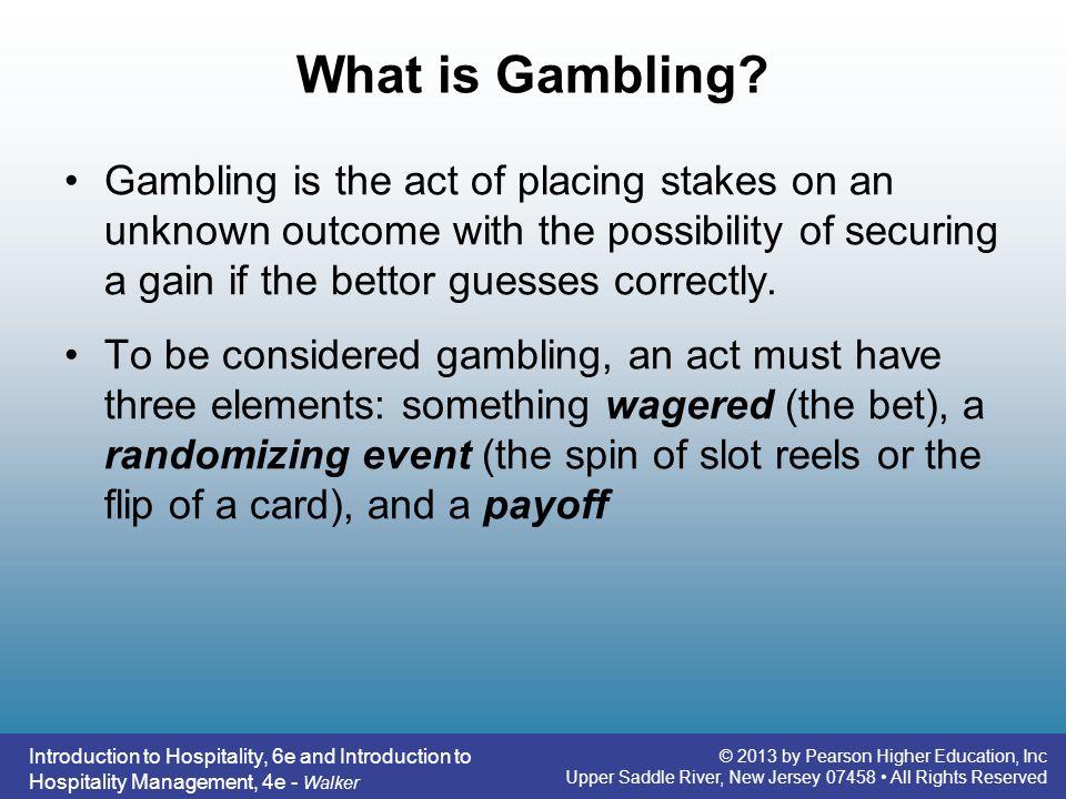 What is Gambling
