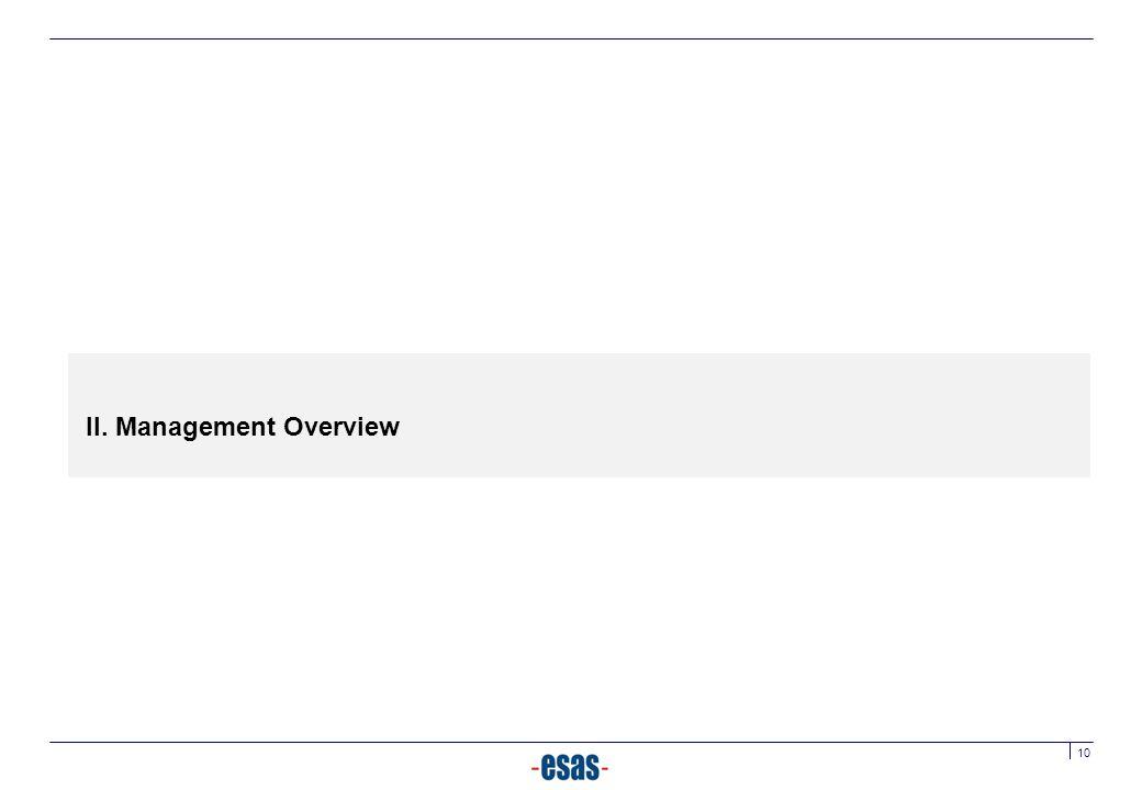 II. Management Overview