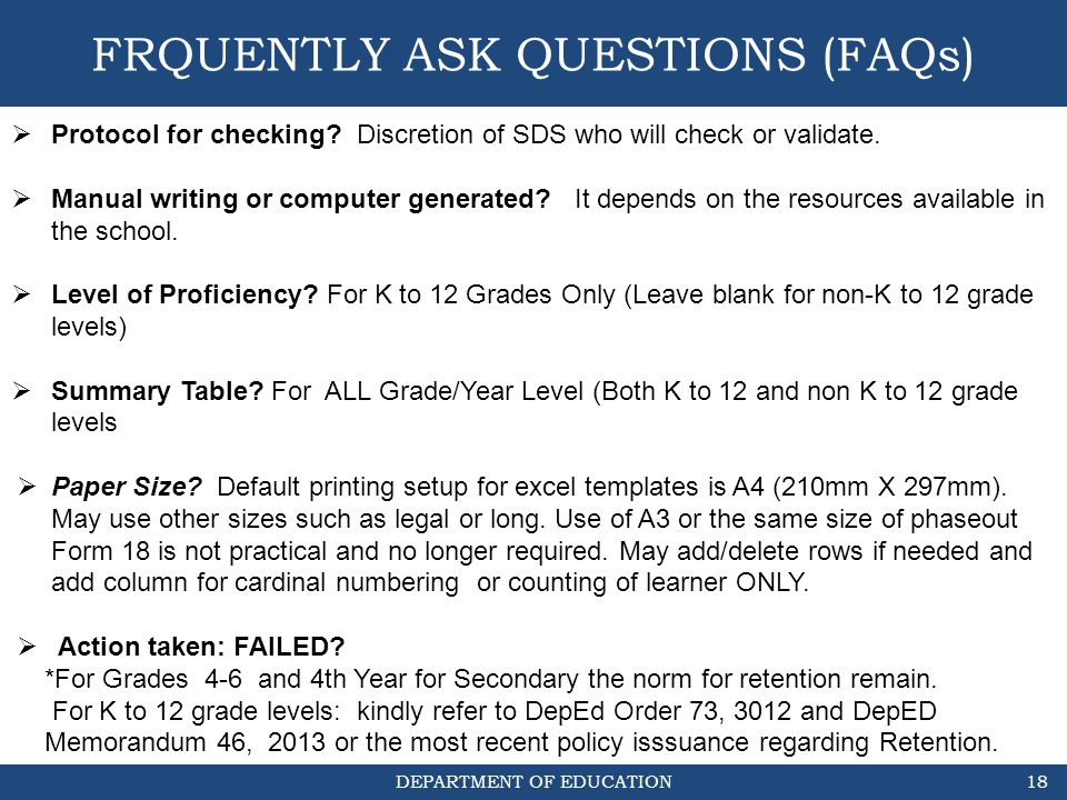 FRQUENTLY ASK QUESTIONS (FAQs)