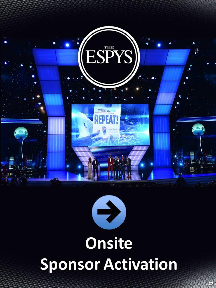 Onsite Sponsor Activation