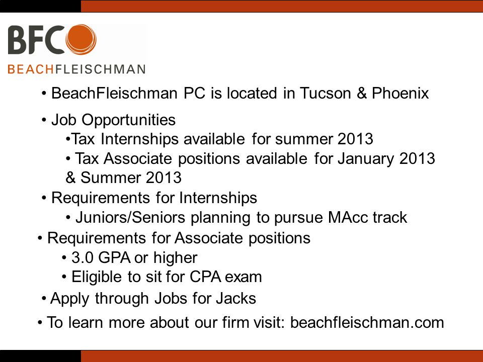 BeachFleischman PC is located in Tucson & Phoenix