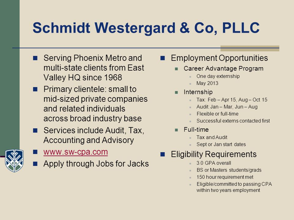 Schmidt Westergard & Co, PLLC