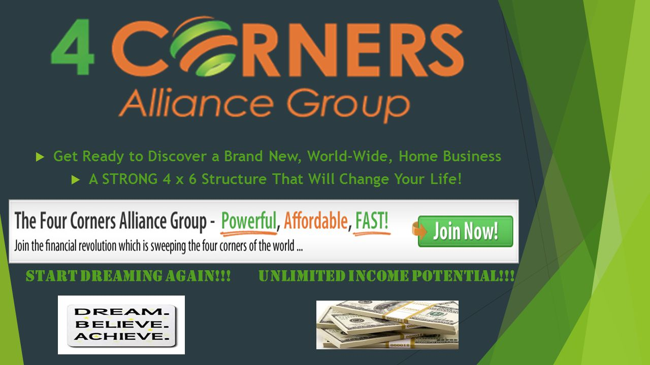 Start dreaming again!!! Unlimited income potential!!!