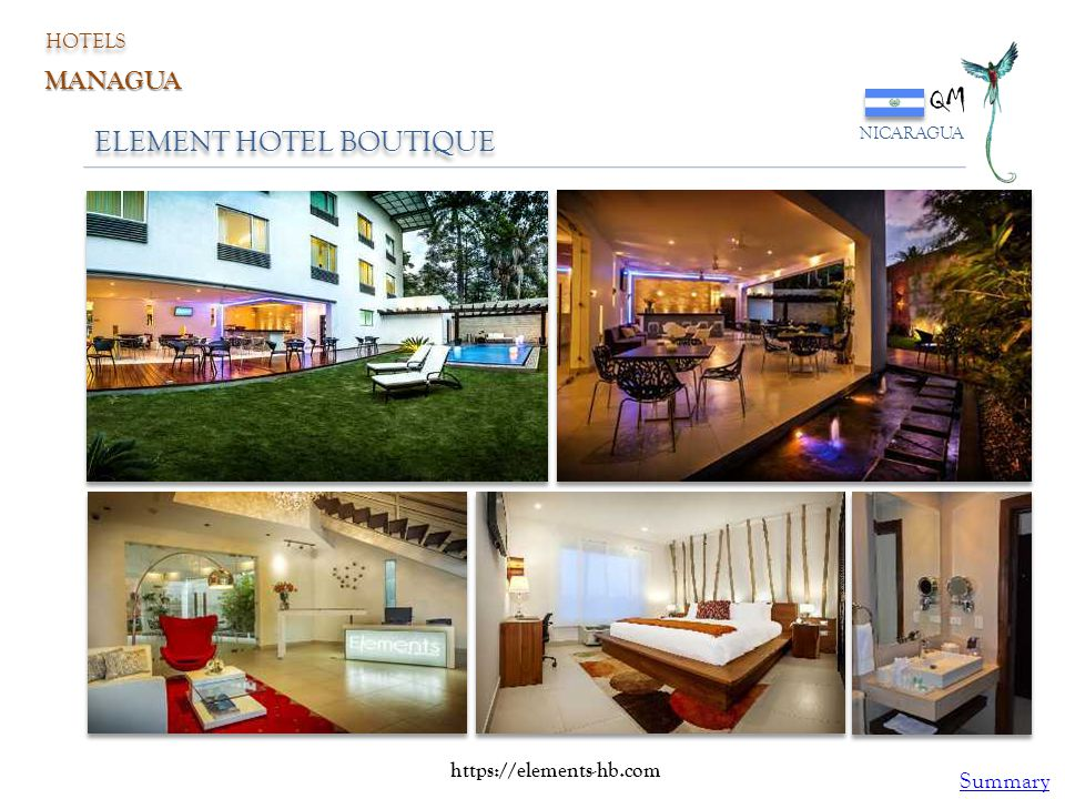 QM ELEMENT HOTEL BOUTIQUE MANAGUA Summary HOTELS