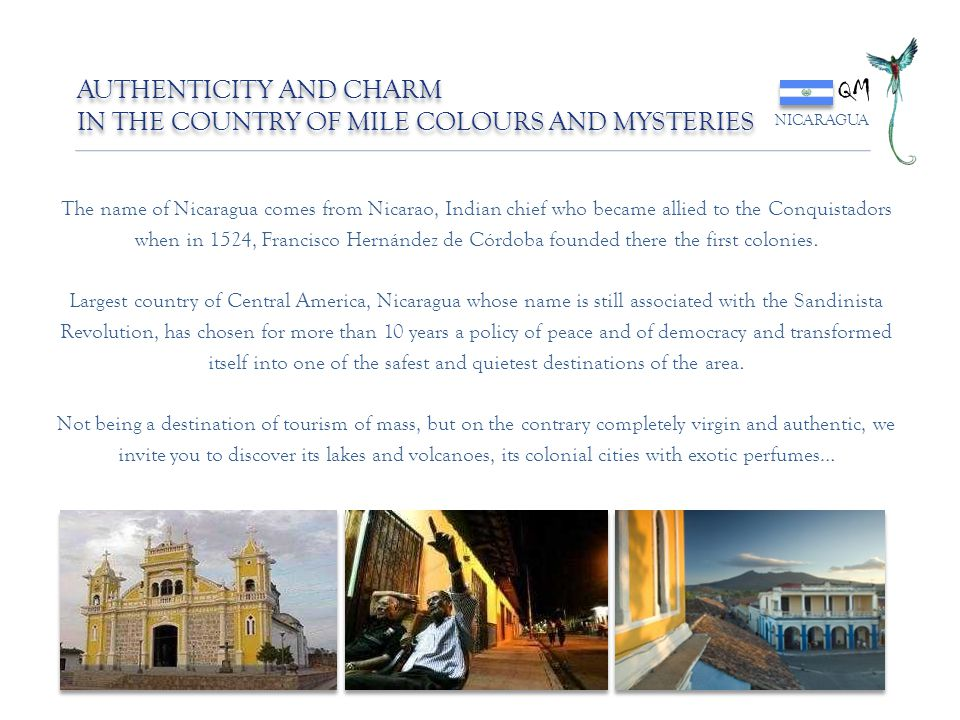QM AUTHENTICITY AND CHARM IN THE COUNTRY OF MILE COLOURS AND MYSTERIES