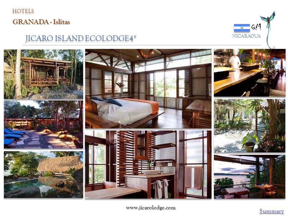 QM JICARO ISLAND ECOLODGE4* GRANADA - Islitas Summary HOTELS