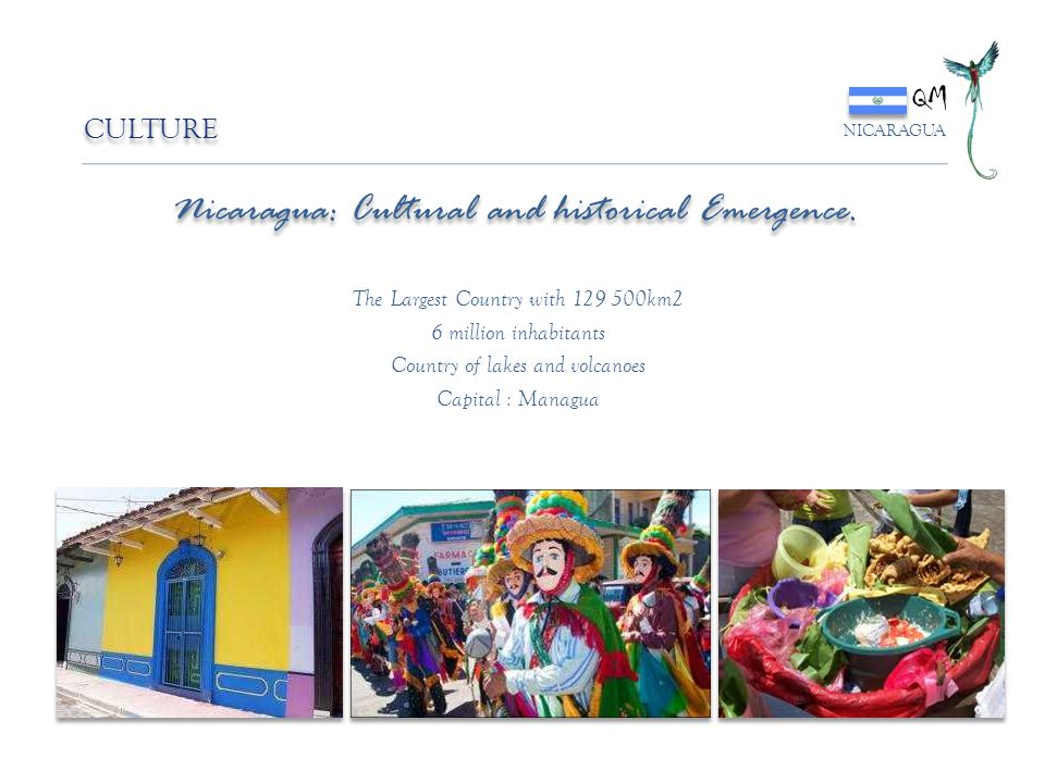 Nicaragua: Cultural and historical Emergence.