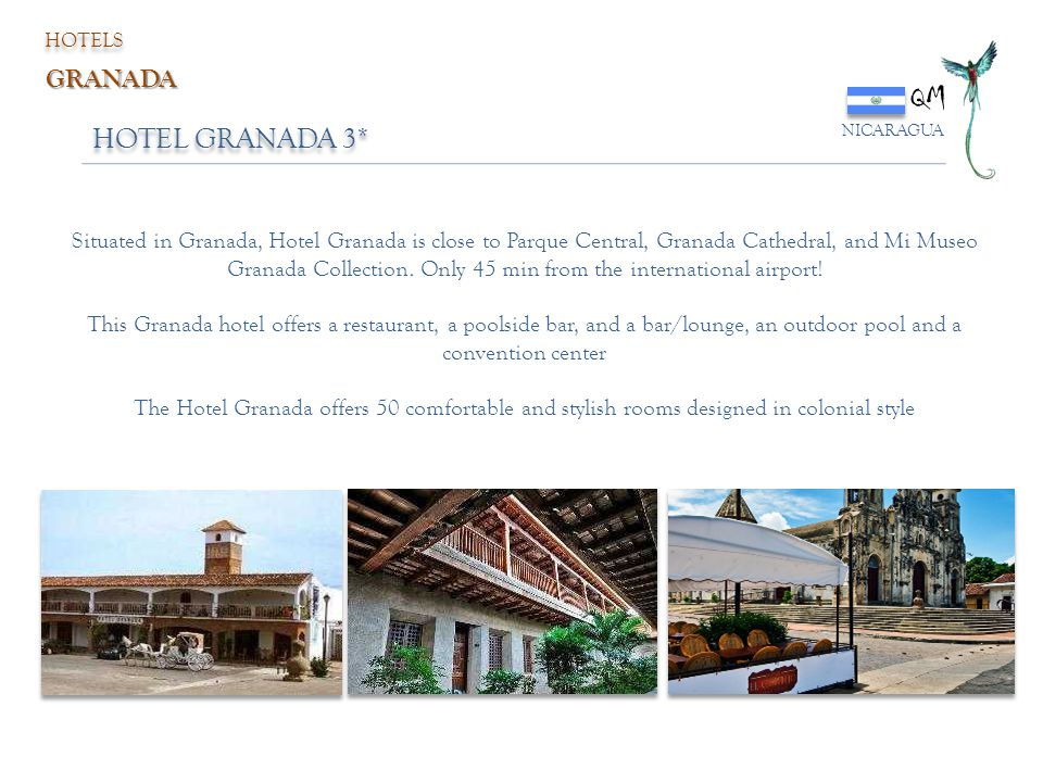 QM HOTEL GRANADA 3* GRANADA