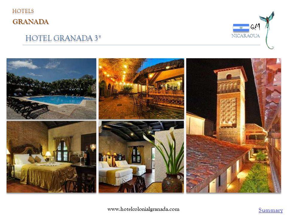 QM HOTEL GRANADA 3* GRANADA Summary HOTELS