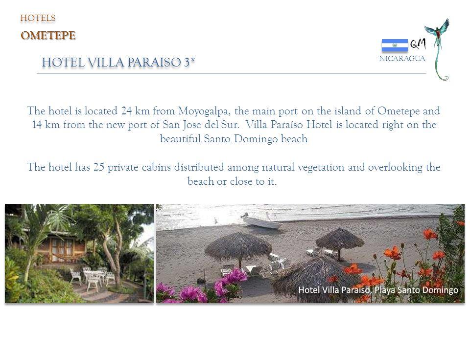 QM HOTEL VILLA PARAISO 3* OMETEPE