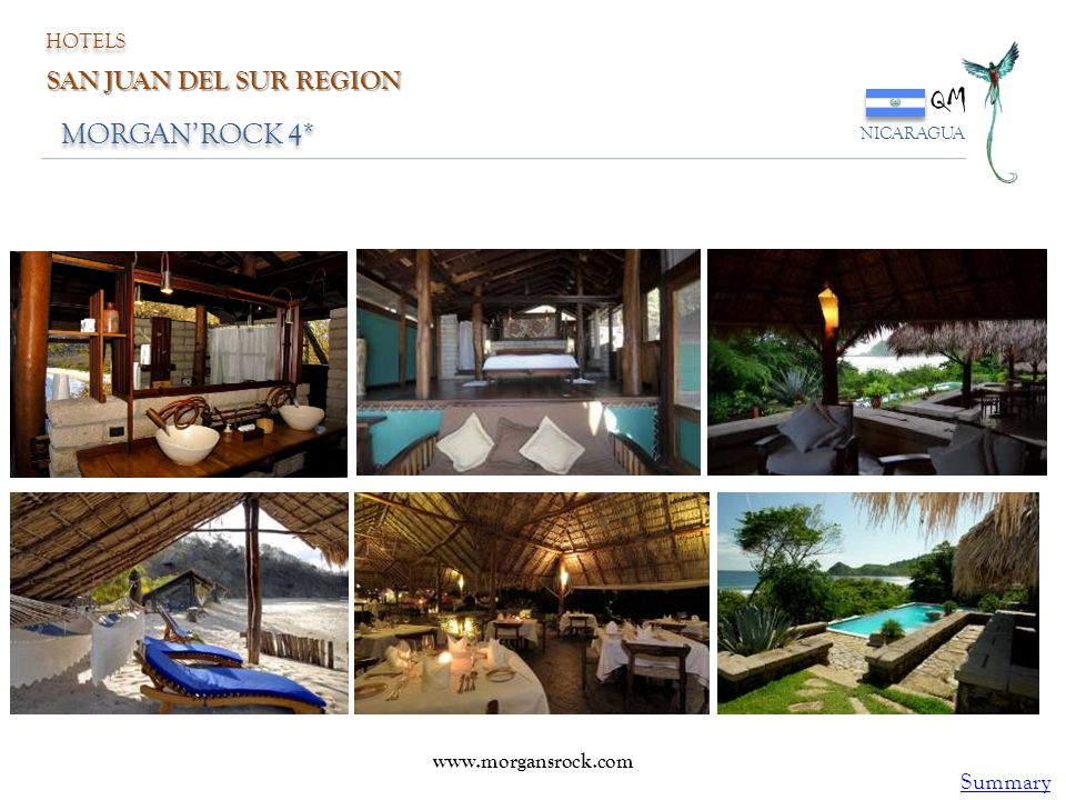QM MORGAN'ROCK 4* SAN JUAN DEL SUR REGION Summary HOTELS