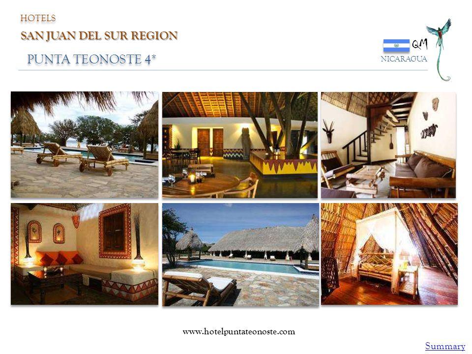 QM PUNTA TEONOSTE 4* SAN JUAN DEL SUR REGION Summary HOTELS