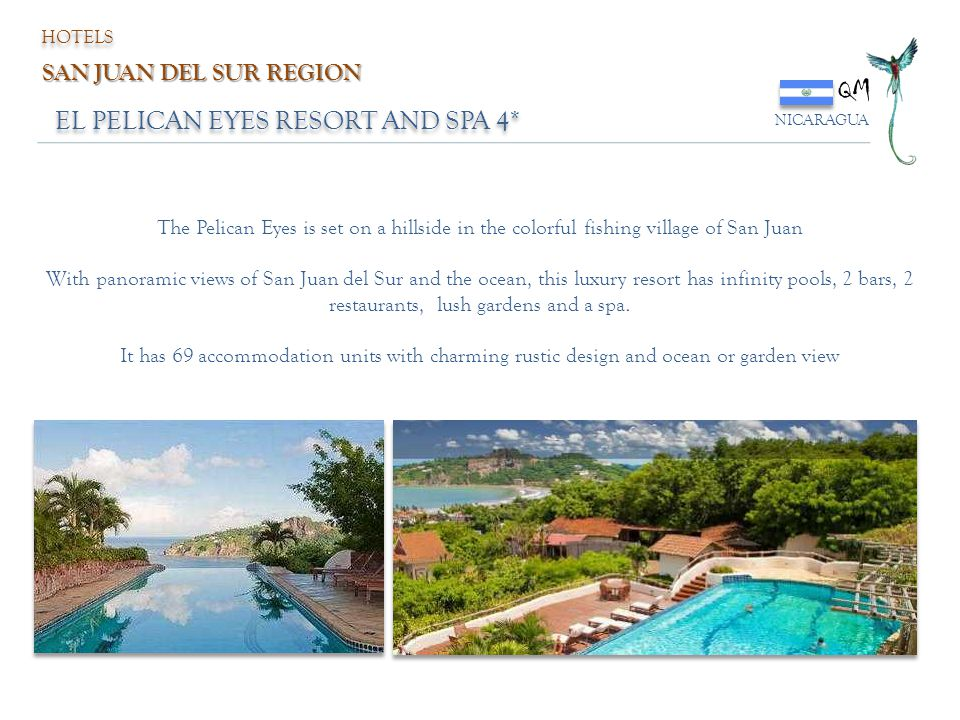 QM EL PELICAN EYES RESORT AND SPA 4* SAN JUAN DEL SUR REGION