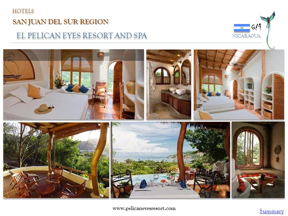 QM EL PELICAN EYES RESORT AND SPA SAN JUAN DEL SUR REGION Summary