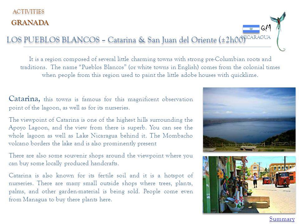 QM LOS PUEBLOS BLANCOS – Catarina & San Juan del Oriente (±2h00)