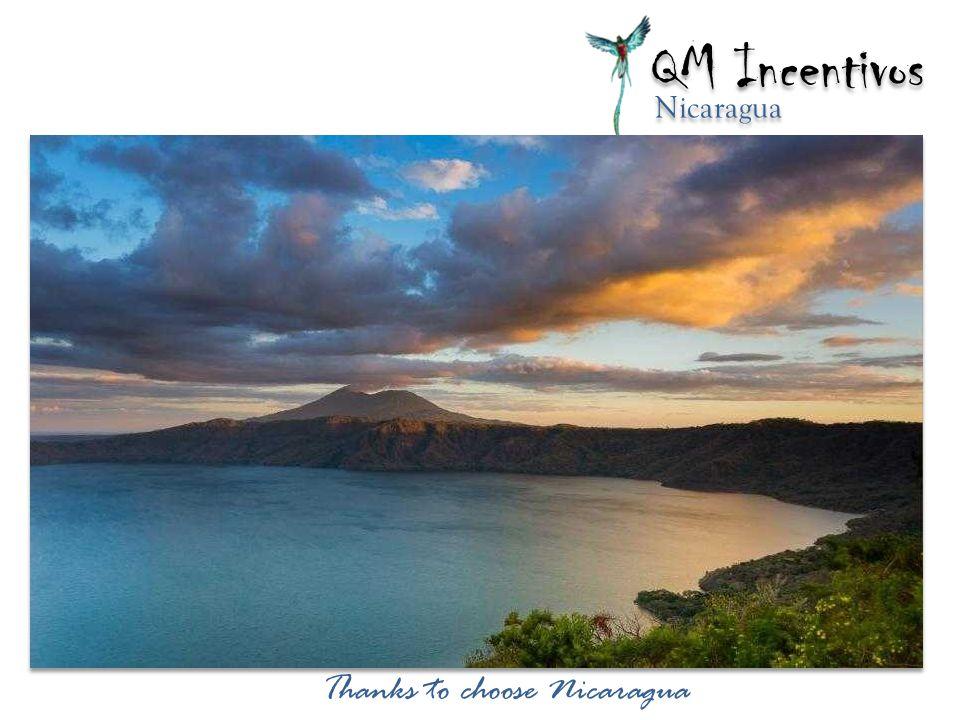 Thanks to choose Nicaragua