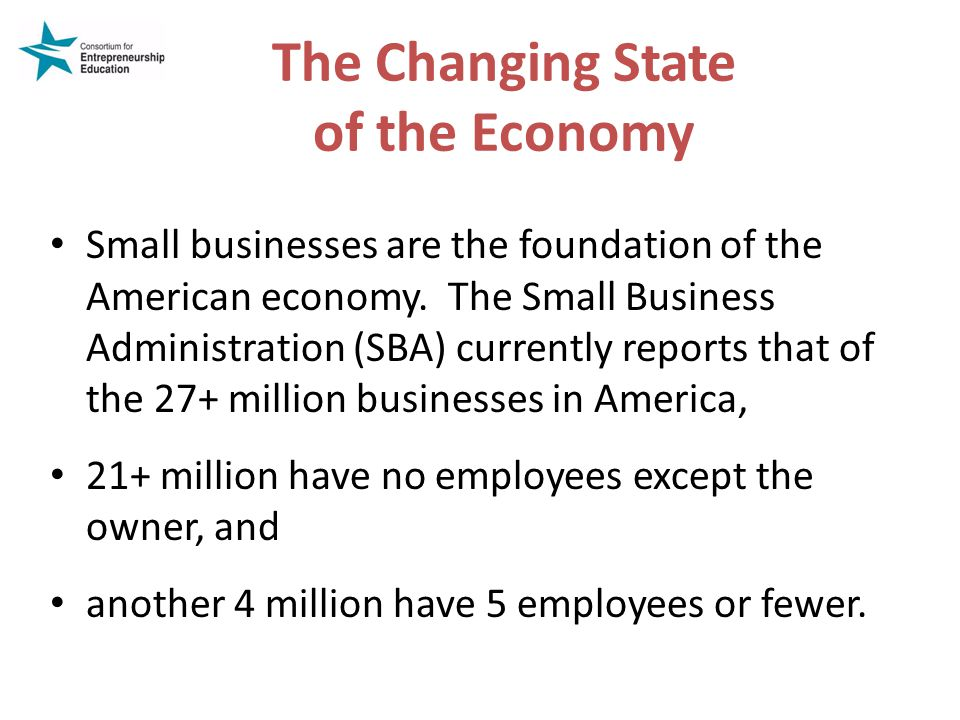 The Changing State of the Economy