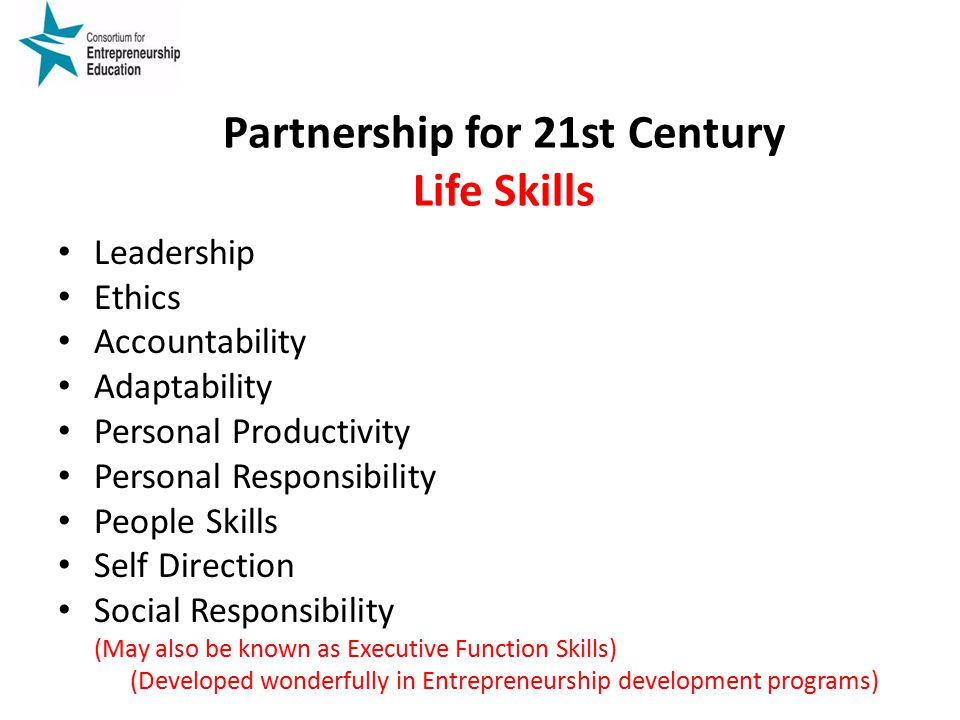 Partnership for 21st Century Life Skills