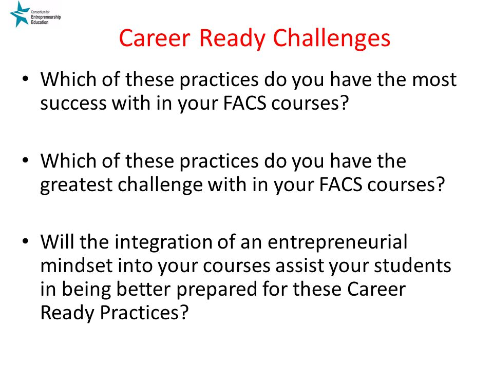 Career Ready Challenges
