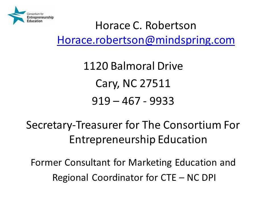 Horace C. Robertson Horace.robertson@mindspring.com