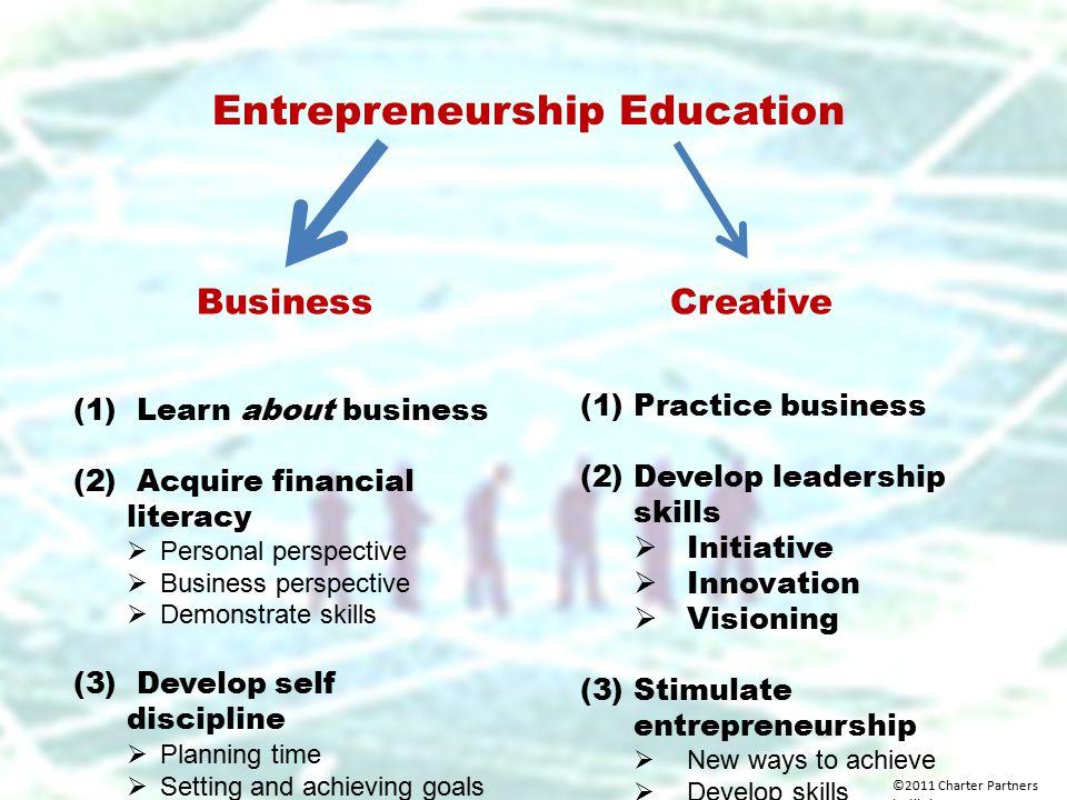 Entrepreneurship Education