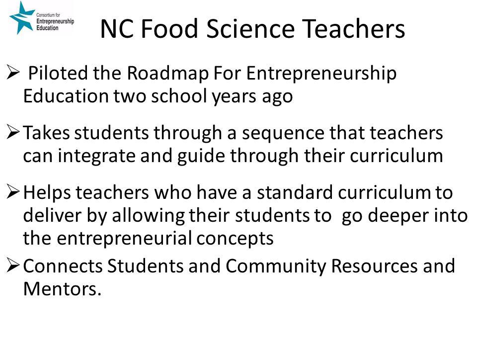 NC Food Science Teachers