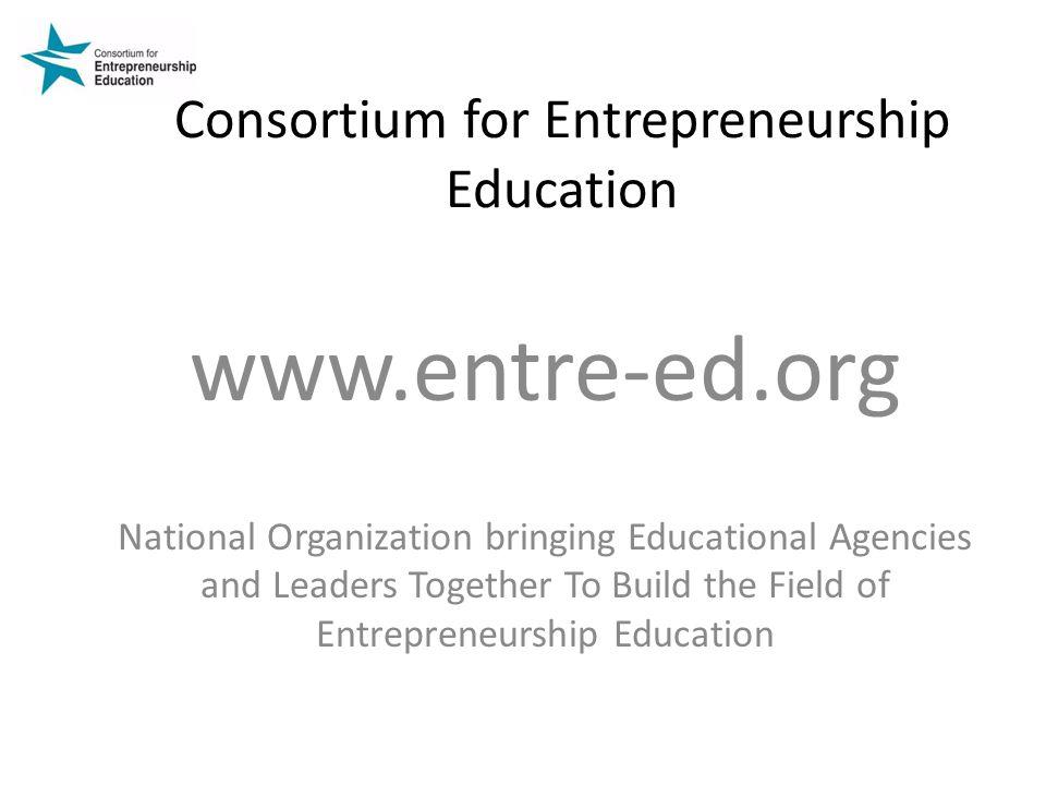 Consortium for Entrepreneurship Education