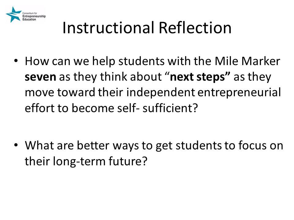 Instructional Reflection