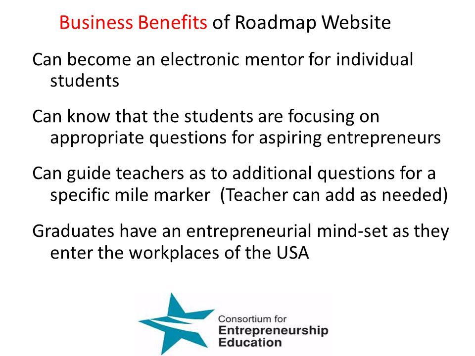 Business Benefits of Roadmap Website