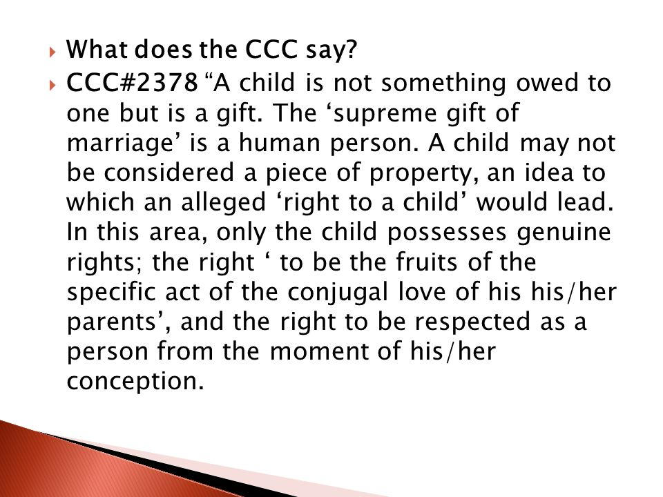 What does the CCC say