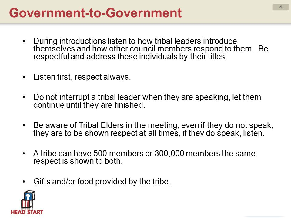 Government-to-Government