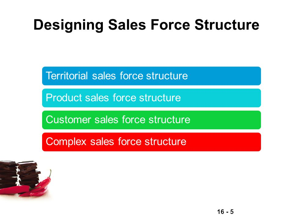 Designing Sales Force Structure