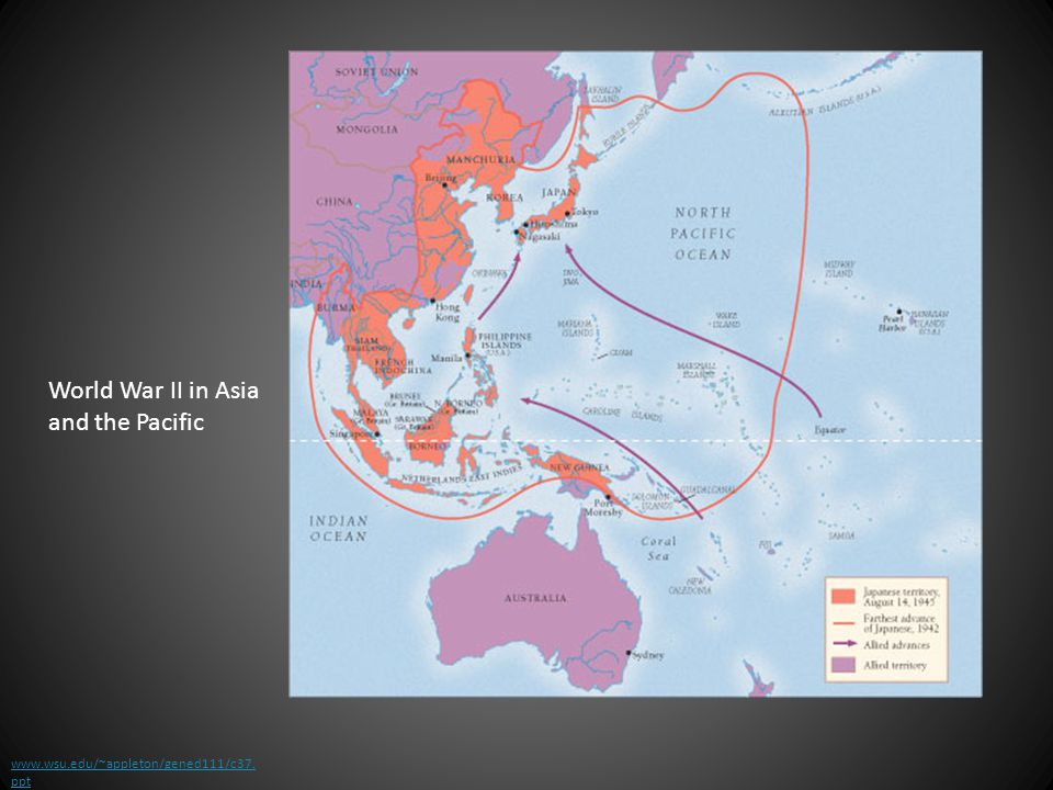 World War II in Asia and the Pacific