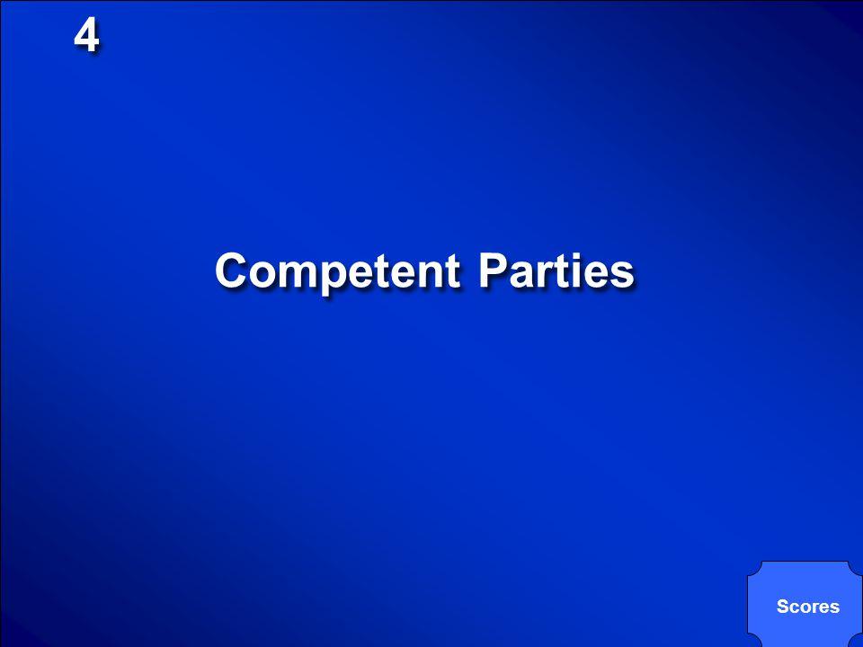 4 Competent Parties Scores