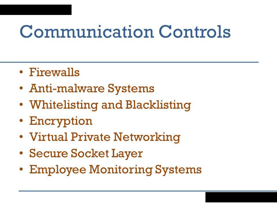Communication Controls