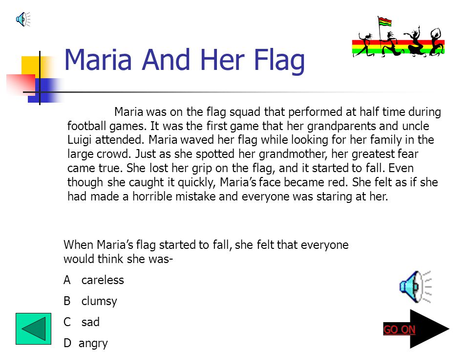 Maria And Her Flag