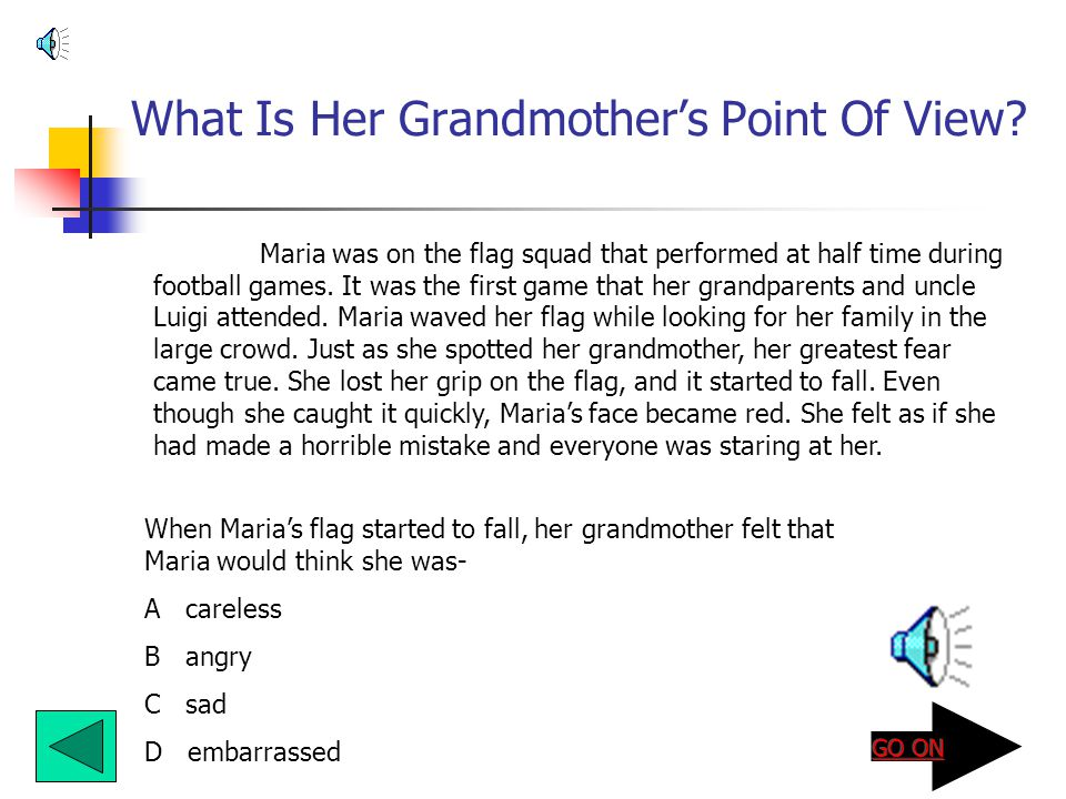 What Is Her Grandmother's Point Of View