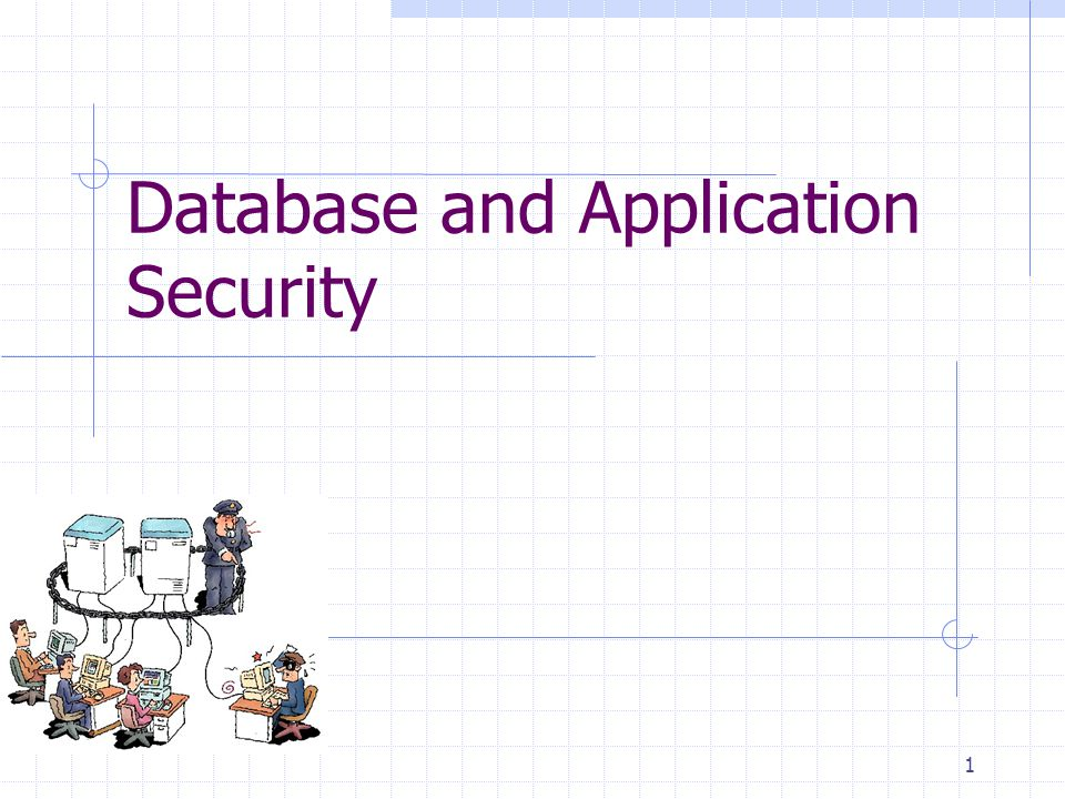 Database and Application Security