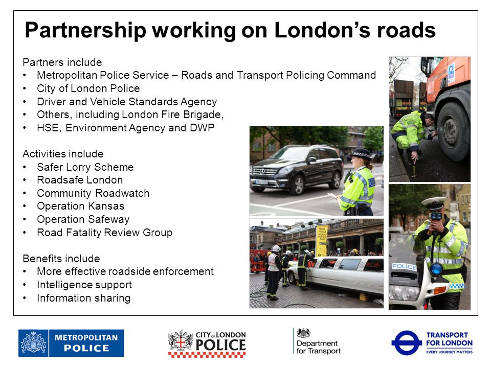 Partnership working on London's roads