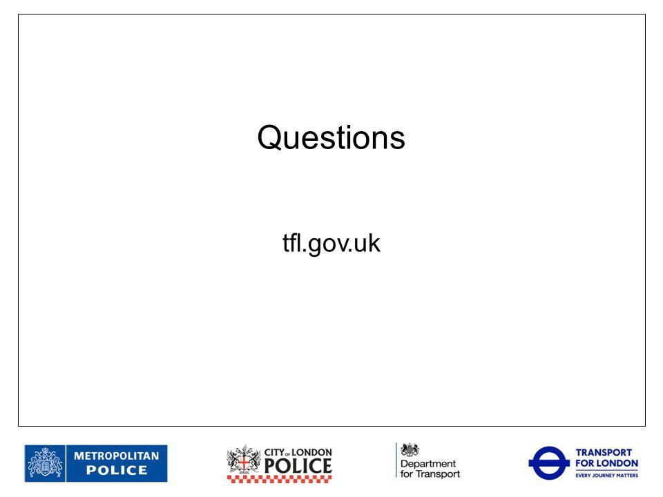 Questions tfl.gov.uk