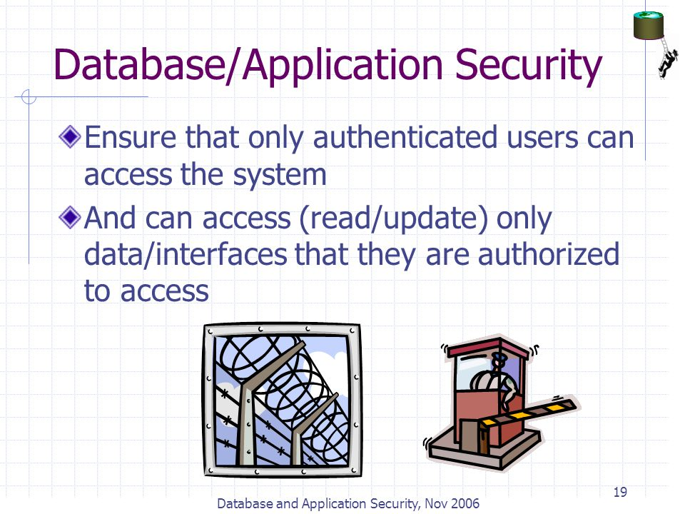 Database/Application Security