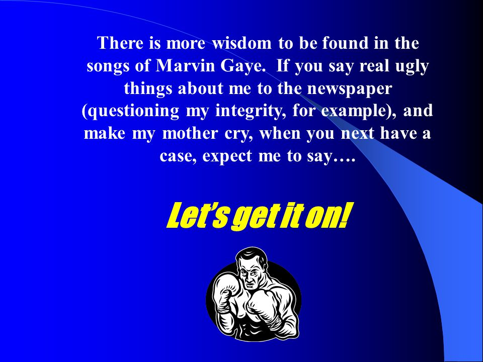 There is more wisdom to be found in the songs of Marvin Gaye
