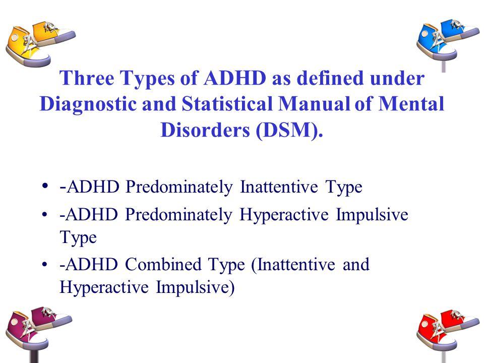 -ADHD Predominately Inattentive Type