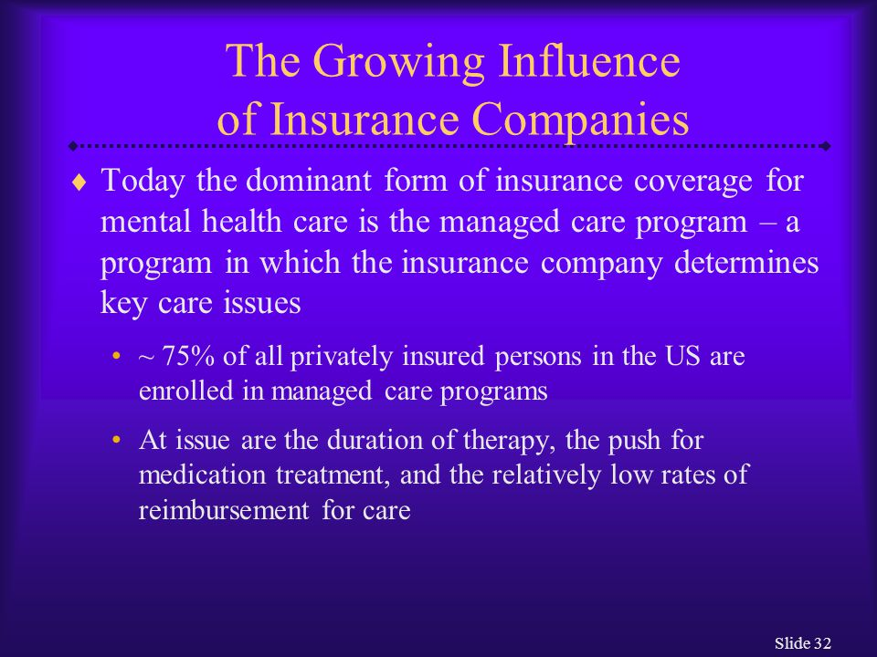 The Growing Influence of Insurance Companies