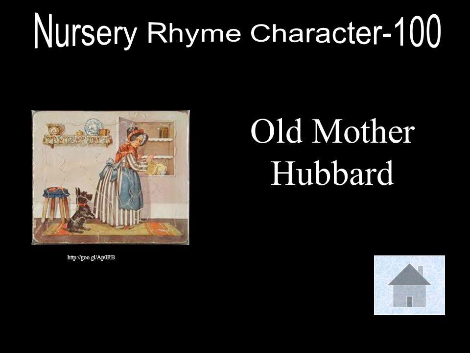 Nursery Rhyme Character-100