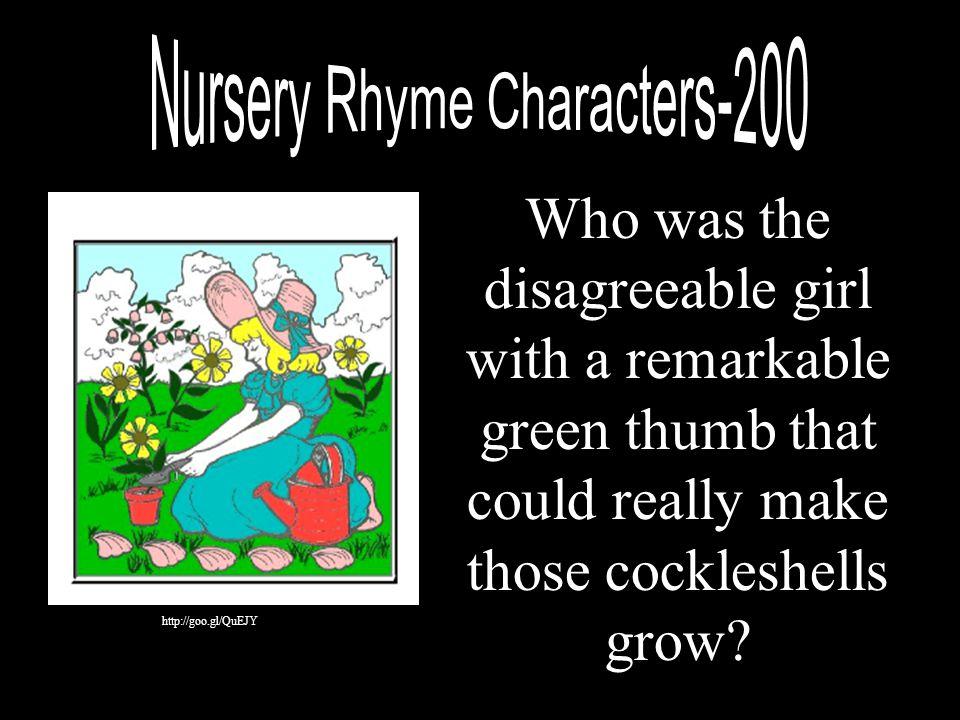 Nursery Rhyme Characters-200