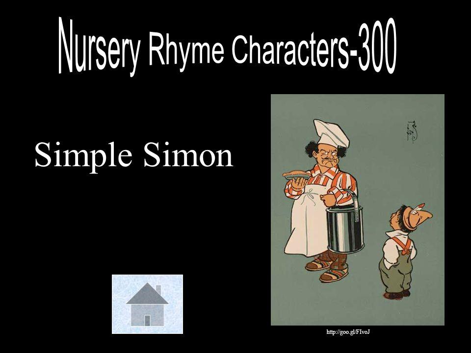 Nursery Rhyme Characters-300