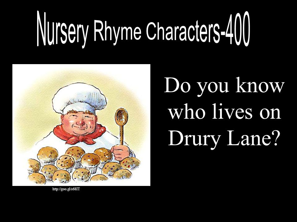 Do you know who lives on Drury Lane
